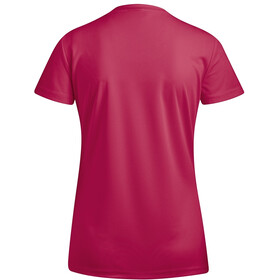 Maier Sports Waltraud T-shirt manches courtes Femme, persian red